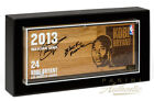 KOBE BRYANT Signed Inscribed 2013 NBA Global Games Floor PANINI LE 14 24