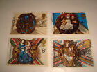 1974 GB COMMEMORATIVE STAMPS CHRISTMAS Set of 4 Used stamps