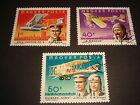 MAGYAR POSTA 1978 AIRCRAFTS PLANES Set of 3 U M stamps with cancellation
