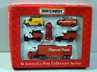 DTE 6 PC 1994 MATCHBOX CONVOY SUPERFAST AUSTRALIAN POST COLLECTORS GIFT SET NIOB