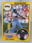 1991 Starting Lineup Kevin Mitchell Giants Baseball Card