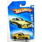 Hot Wheels 2009 Muscle Mania 1967 Ford Shelby Mustang GT500 GT 500 Yellow