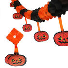 Pumpkin Scary Garland Halloween paper Decoration party decoration Banner flag