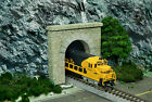 2 Single Track Stone Tunnel Portal Set of 2 N Scale Building DIY Paper Cutout