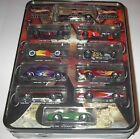 Hot Wheels Decades 1900 2000 Collectible Tin Set with VW DRAG BUS
