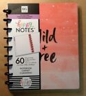 NEW me  my big ideas CLASSIC HAPPY NOTES Notebook WILD  FREE Dot Grid Sheet