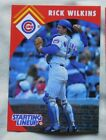 1995 Starting Lineup Rick Wilkins Cubs Baseball Card