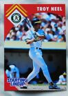 1995 Starting Lineup Troy Neel Oakland A's Baseball Card