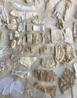LARGE ANTIQUE/VINTAGE LOT OF LACE - VARIETY OF LACE TRIMMINGS