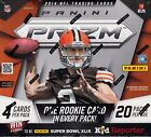 2014 Panini Prizm Football sealed hobby box 20 packs of 4 NFL cards 1 auto