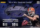 2014 Panini Certified Football sealed hobby box 10 packs of 5 NFL cards 3 hits