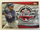 2018 Topps Fan Fest Kris Bryant All-Star Game Commemorative Patch 082 100 Cubs