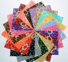 60 5 inch Quilting Fabric Squares Antique Charm Georgeous Free Ship