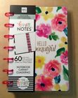 NEW me  my big ideas MINI HAPPY NOTES Notebook Hello Beautiful Graph Paper