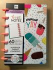 NEW me  my big ideas MINI HAPPY NOTES Notebook EVERYDAY YAY Dot Grid Sheets