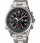 CASIO Edifice  EF527D-1AV Stainless Steel Chronograph Date Sport Watch
