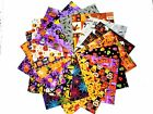 17 10 Halloween Quilting Fabric Layer Cake Squares NEW ITEM Fantastic