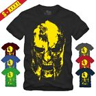 SPARTANER HELM SKULL G T-SHIRT GYM|Athletic|Sparta|300|Fitness|Sport|Europa MUT