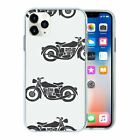 Motorbike Pattern TPU Back Case Cover For Mobile Phone - S2687