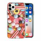 Mixed Candy Sweets TPU Back Case Cover For Mobile Phone - S301
