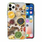 Mixed Fruit Veg TPU Back Case Cover For Mobile Phone - S305