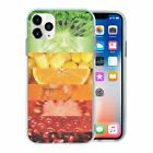 Mixed Fruit Veg TPU Back Case Cover For Mobile Phone - S306