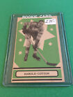 1933 O-PEE-CHEE BALDY HAROLD COTTON RC EX++ #35 MAPLE LEAFS ROOKIE 1934-34