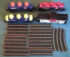 USA Trains G Scale Lot Set 4 Cars 12 Tracks Caboose Oil Freight Tankers Soo Tank