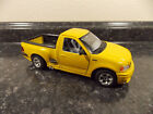 burago Ford SVT F150 Yellow Die Cast 121 Scale