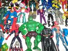 Mixed lot of 50 Action Figures Superheroes  More 0719