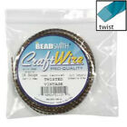 Twisted Craft Wire Wrapping Pro Quality Artistic Craft Silver Brass Antique