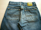 Lucky Brand Dungarees womens sz 24 low rise straight leg button fly blue jeans