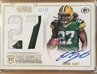 2013 National Treasures Colossal Jersey On Card Auto Rookie EDDIE LACY 25 SSP