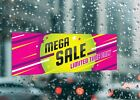 Mega Sale Limited Time Only Long Large Self Adhesive Window Shop Sign 3482