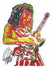 Edward Eddie Van Halen Eruption Guiatr Rock Music Print Poster Wall Art 8.5x11