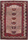 Exclusive Hand-Knotted Rug 4' x 6' Soft Persian Hamadan Rug