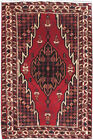 Persian Soft Hamadan Rug Exotic Hand-Knotted Rug 4' x 7'