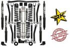 Rock Krawler 25 Adventure Series 3 Kit TT Shocks 07 18 Jeep Wrangler JKU 4DR