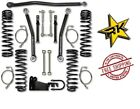 Rock Krawler 25 Flex System No Shocks 07 18 Jeep Wrangler JK 2 Door JK25FS 2