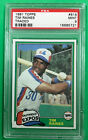 1981 Topps Traded Tim Raines PSA 9 #816 (BB MO)