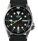 Seiko Mid-Size Divers 200M Automatic Watch on Rubber Strap - SKX013K1