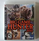 CABELA'S BIG GAME HUNTER - PS3 PLASTATION 3 GAME - EXCELLENT CONDITION