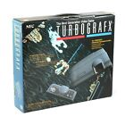 PC Engine / TurboGrafX 16 - console + official pad + equipment boxed  MINT