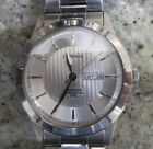J.SPRINGS SAPPHIRE CRYSTAL, MULTI-TEXTURED 42MM FACE; DAY & DATE WINDOW; CLEAN!