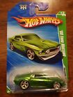 2010 Hot Wheels 69 FORD MUSTANG SUPER TREASURE HUNT With Protector