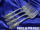 GORHAM CROWN BAROQUE STERLING SILVER DINNER FORK - VERY GOOD CONDITION S