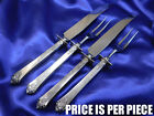*1* ROYAL CREST CASTLE ROSE STERLING SILVER CARVING SET - VERY GOOD CONDITION