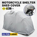 Large Motorcycle Shelter Storage Cover Tent Garage Outdoor Superior Tourer