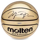 MICHAEL JORDAN Autographed Molten Olympic Gold Trophy Basketball UDA