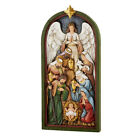 Nativity Relief Wall Plaque Resin
